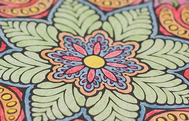 Verwonderlijk Mandala Kleurboek; Kleuren voor Volwassenen - Wish Flower WW-51