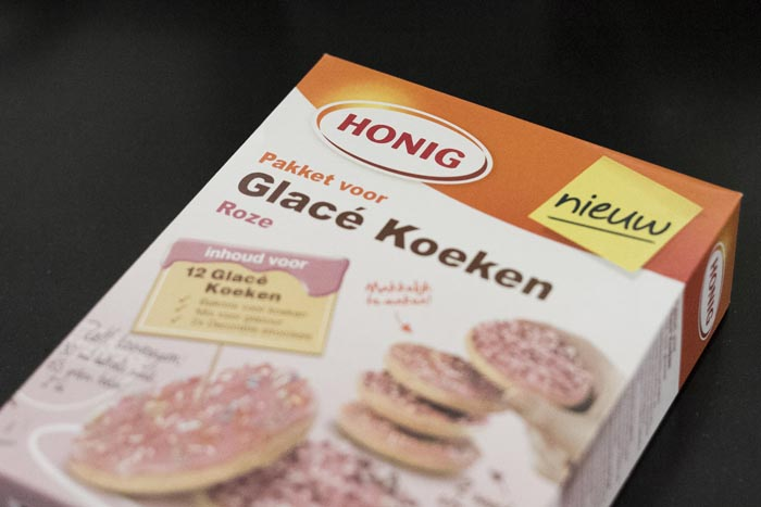 Roze koeken maken; Homemade!-01