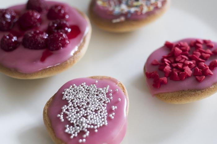 Roze koeken maken; Homemade!-10