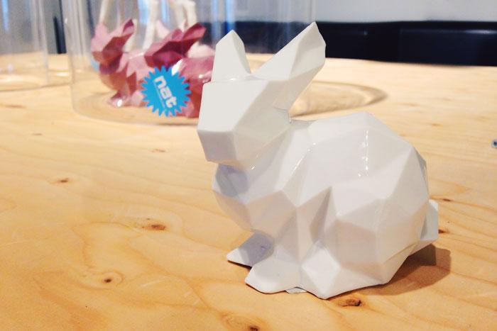 Papieren konijn van Loods 5