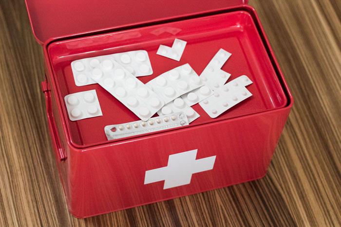 Medicijnbox van Present Time -4