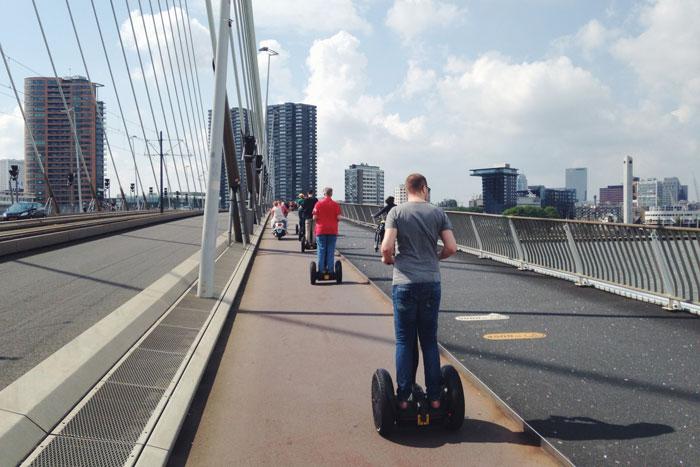 Segway Rotterdam; Crossen door de stad!