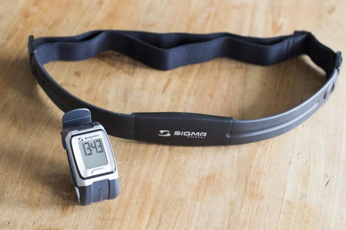 Sigma Hartslagmeter; Voor het hardlopen