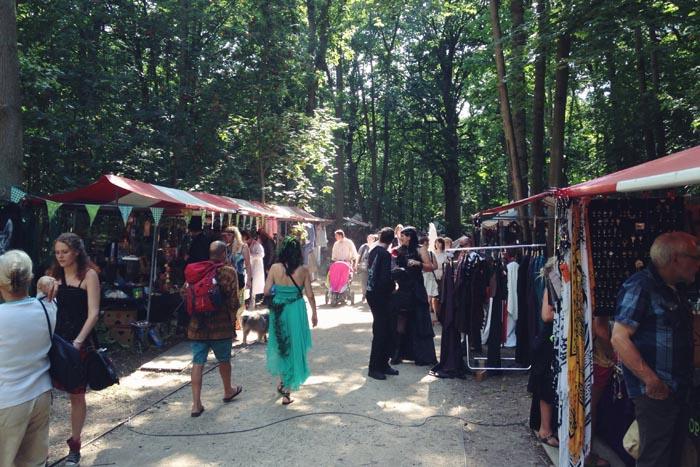 De wereld van fantasy castlefest