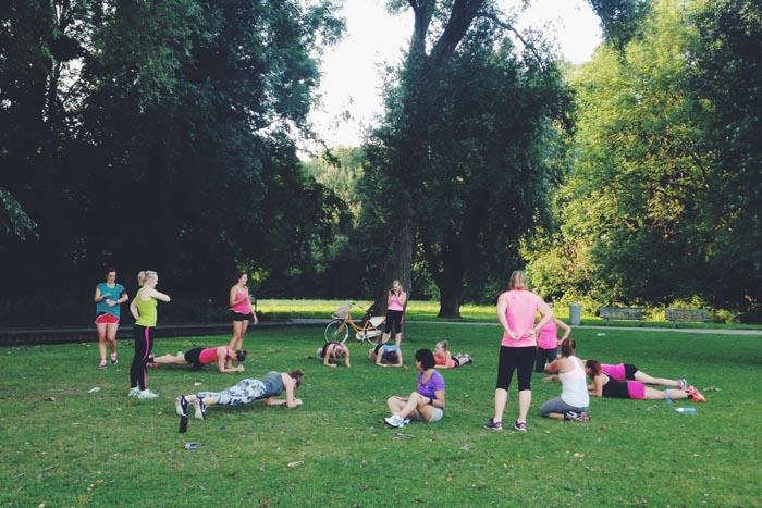 Hardlopen met de Run en Juice Club van Lin