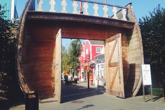 Bezoekje Bataviastad in Lelystad