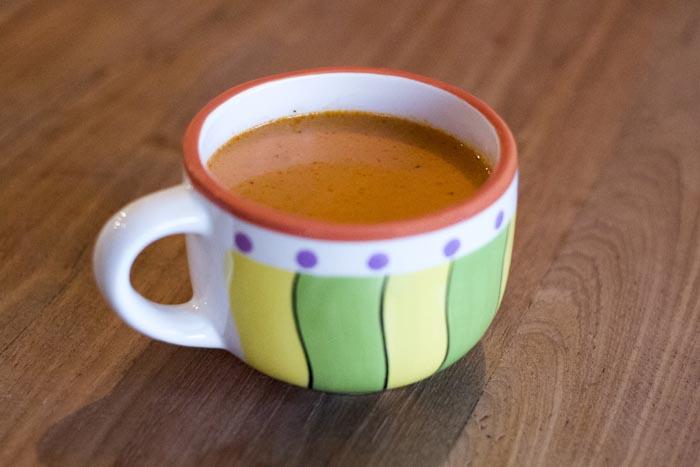 Recept; Homemade tomatensoep