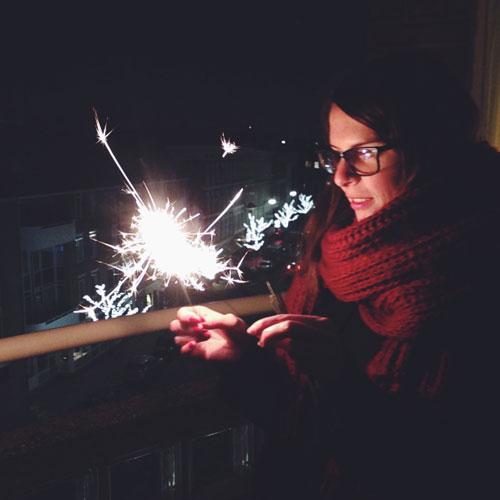 Oud en Nieuw; Gelukkig nieuwjaar