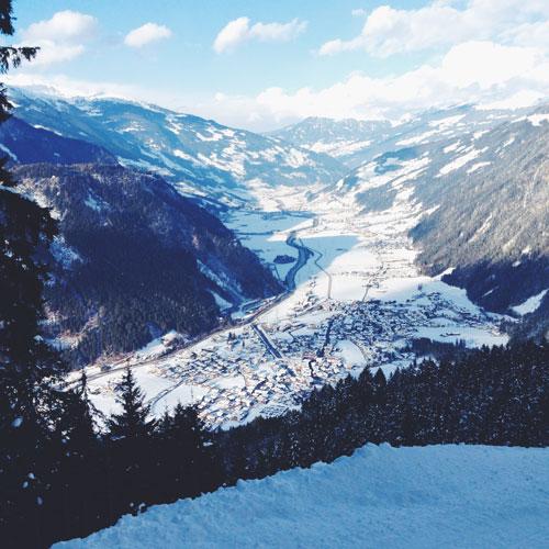 5x Leuk; Wintersport in Mayrhofen