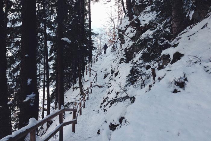 Wandelen in Mayrhofen; Het avontuur