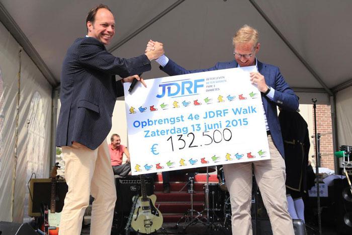 JDRF Walk 2015; Van type 1 naar type geen