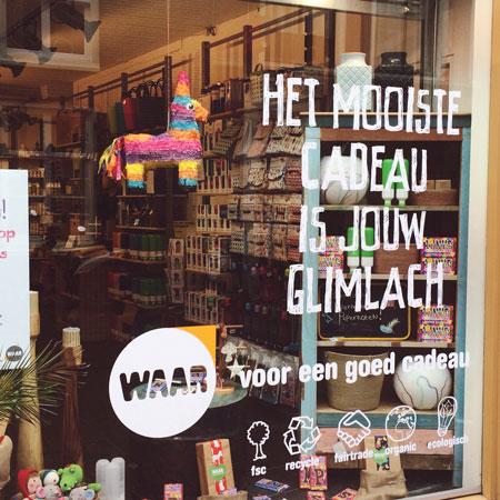 Winkel WAAR in Leiden