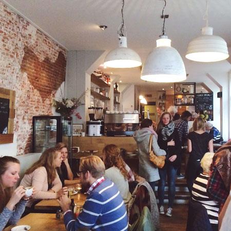 Lunchen bij Roos in Leiden