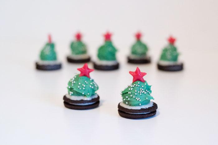 kerstboompjes om op te eten