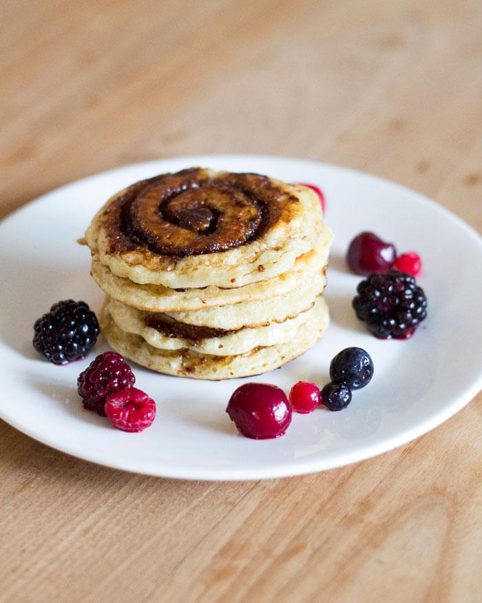 Voor de zoetekauw; Cinnamon Pancakes