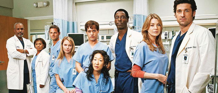 Vijf series zoals Sex and the City Greys Anatomy
