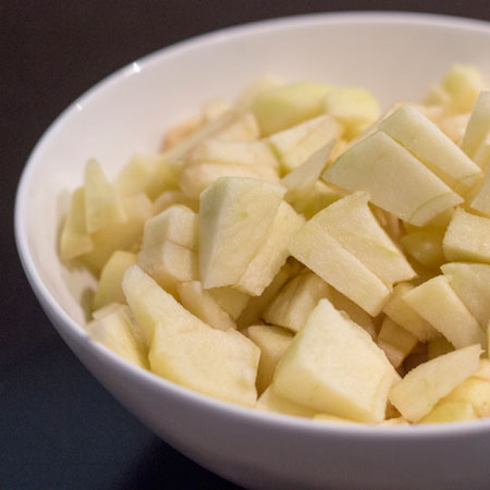 Appelcrumble; Homemade appeltaart maar dan anders