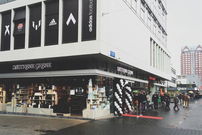 De opening van Søstrene Grene in Rotterdam!