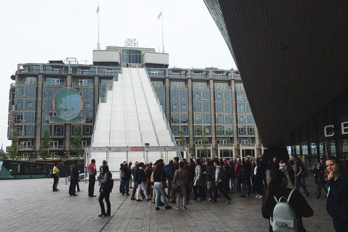 De trap van Rotterdam