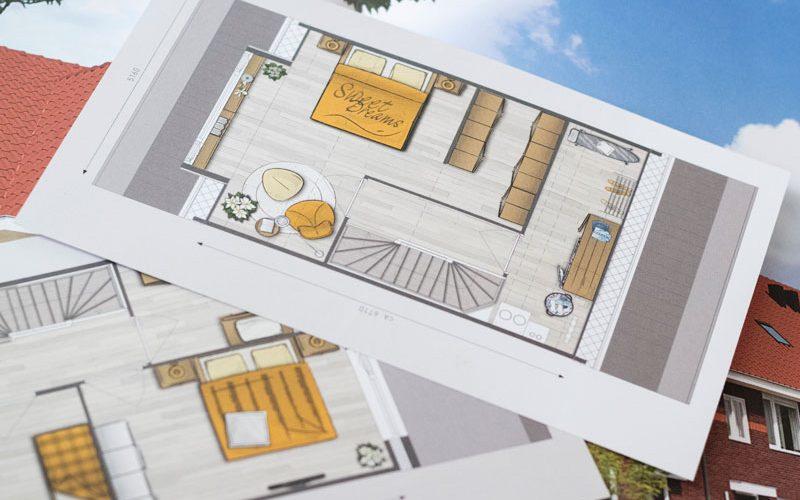De Ideale Zolderkamer : Slapen op zolder of op de eerste verdieping wish flower