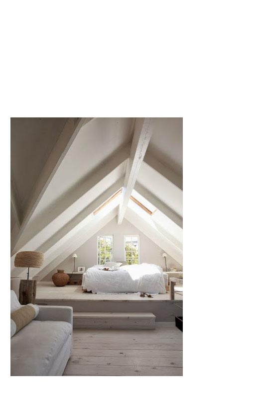Slapen op zolder of op de eerste verdieping?