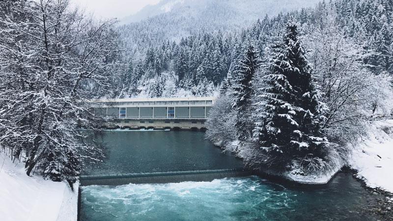 Waterkrachtcentrale van Mayrhofen