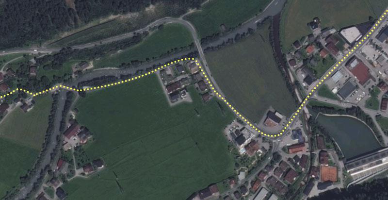 Wandelroute van Mayrhofen naar Finkenberg