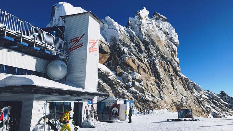 Station Gletscherbus 3