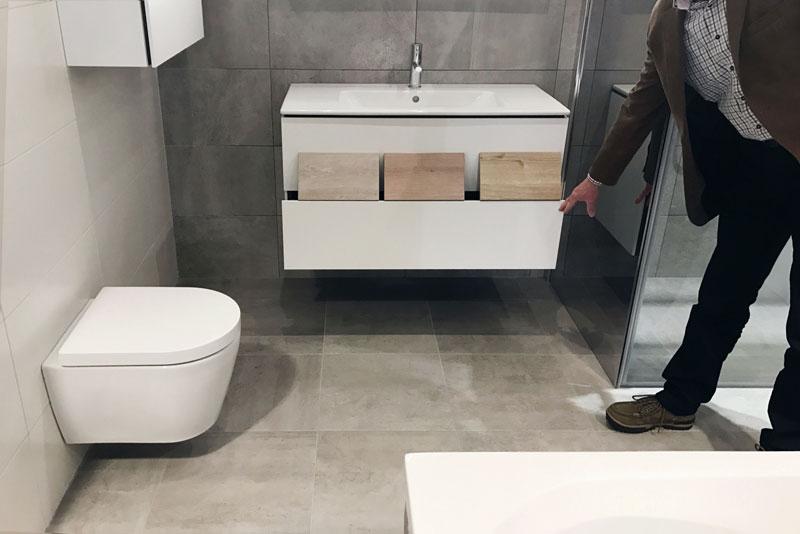 Het uitzoeken van een badkamer voor in ons nieuwe huis
