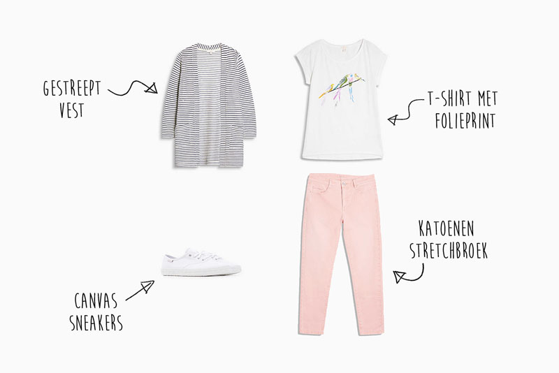Mix & Match; Drie outfits voor de zomer