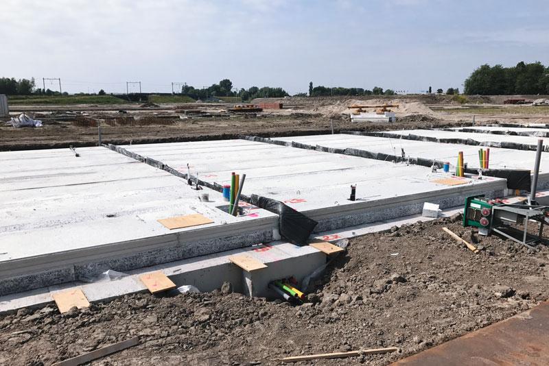Van een stuk grond tot een nieuwbouwhuis