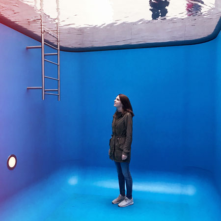 Museum Voorlinden Swimming Pool van Leandro Erlich