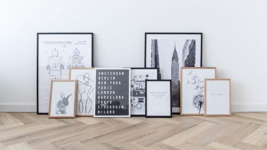 Leuke Posters Woonkamer : Leuke hoekjes maken in huis met betaalbare posters wish flower