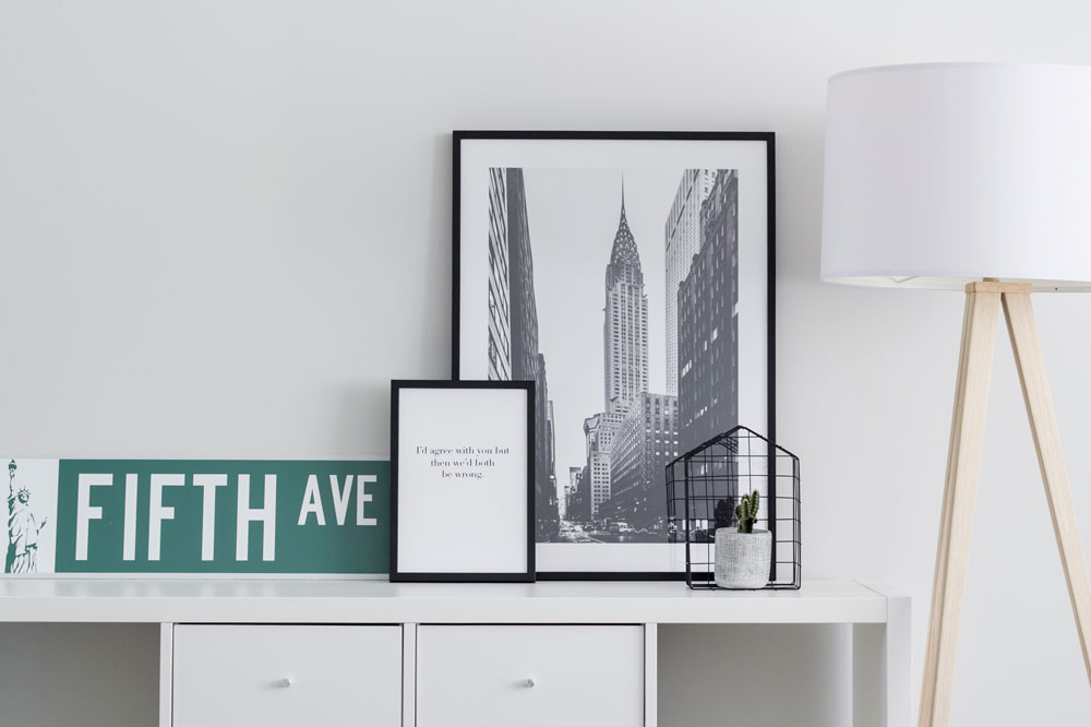 Leuke hoekjes maken in huis met betaalbare posters